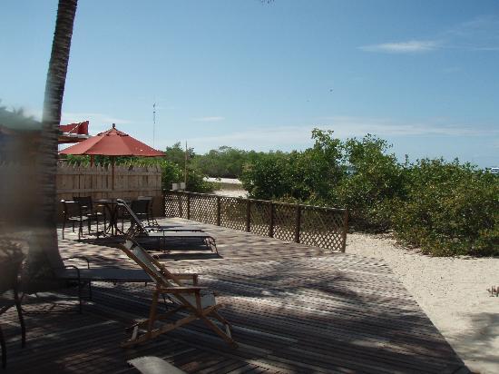 Redmangrove: Beachfront deck