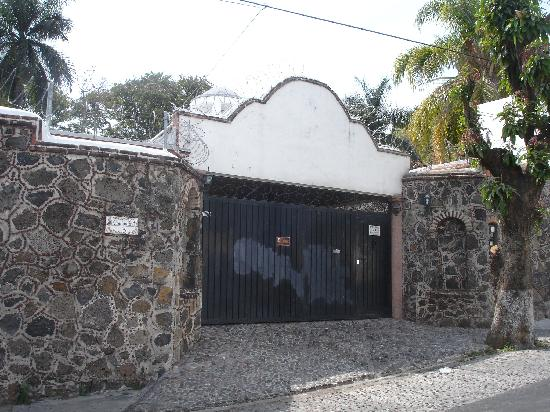 Casa Chocolate Bed and Breakfast: Secure gate