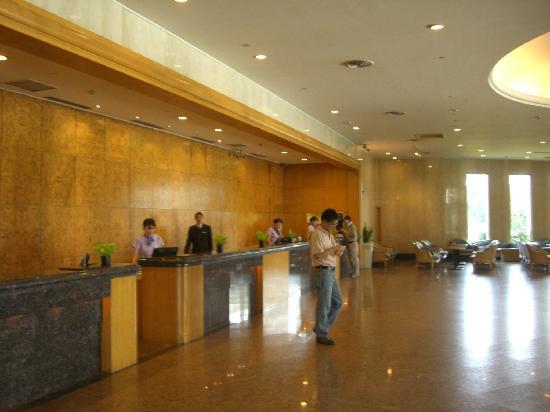 Parkview Hotel: ホテルロビー
