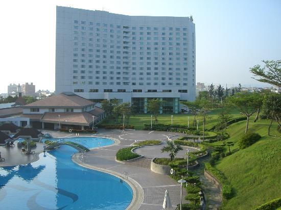 Parkview Hotel: ガーデンからの眺め