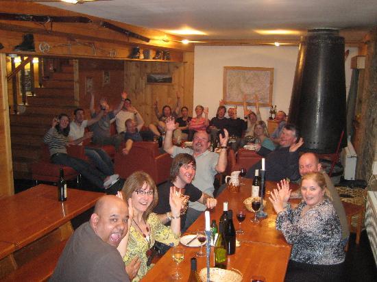 Chalet Chardonnet : evening meal