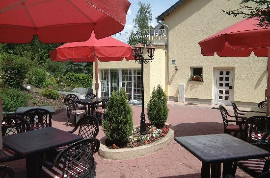 Hotel Au Vieux Moulin: TERRACE