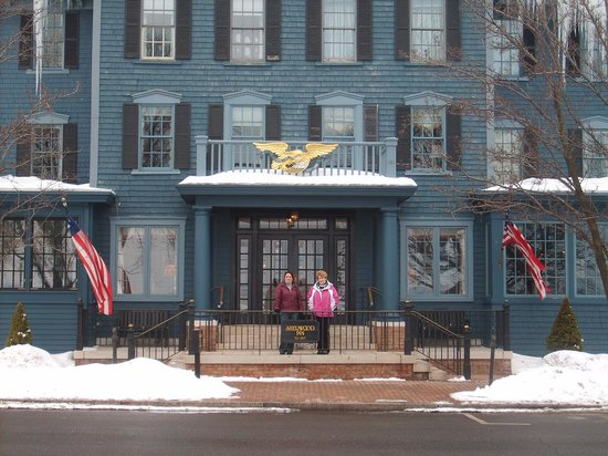 Skaneateles, นิวยอร์ก: The Sherwood Inn