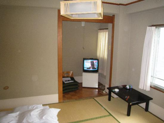 Hotel New Matsuo: TV with a few channels but no cable TV