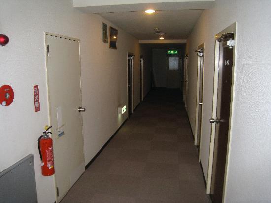 Hotel New Matsuo: The corridor