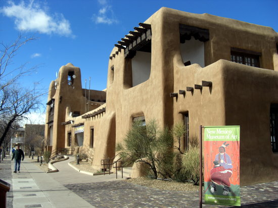 Santa Fe, Nuevo Mexico: New Mexico Museum of Art