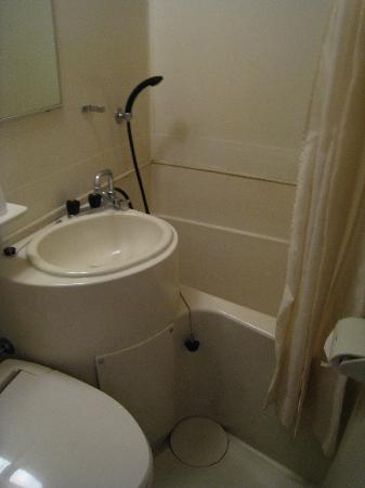 Hakata Business Hotel: The not-so-brilliant bathroom