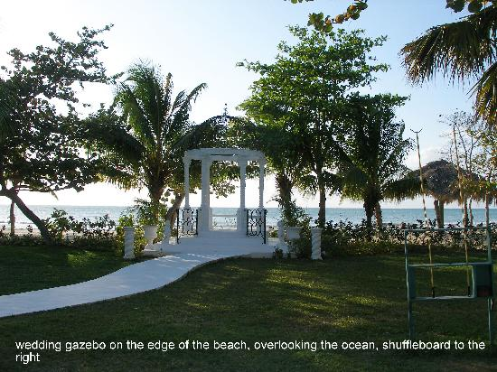 Beaches Negril Resort & Spa: What a beautiful setting for a wedding!!