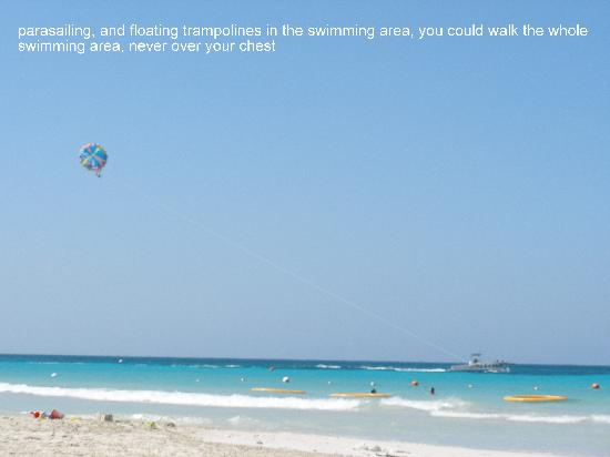 Beaches Negril Resort & Spa: Parasailing