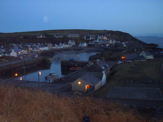 The Portpatrick Hotel: Evening view