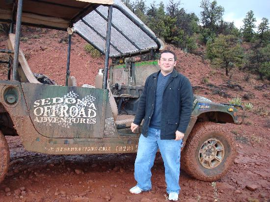 Sedona Offroad Adventures: Muddy Hummer