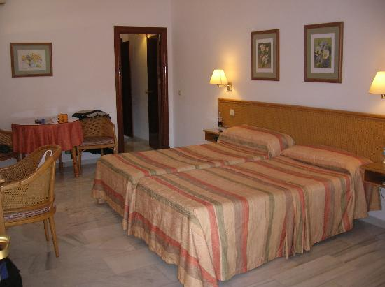 Las Rampas: bedroom