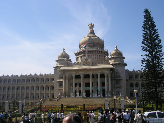 Bengaluru, India: vidhana soudha in Bangalore