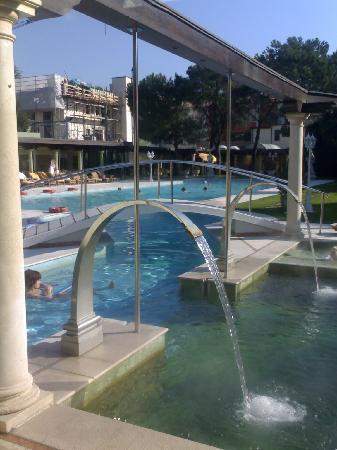 Hotel President Terme: Piscina esterna - idromassaggi
