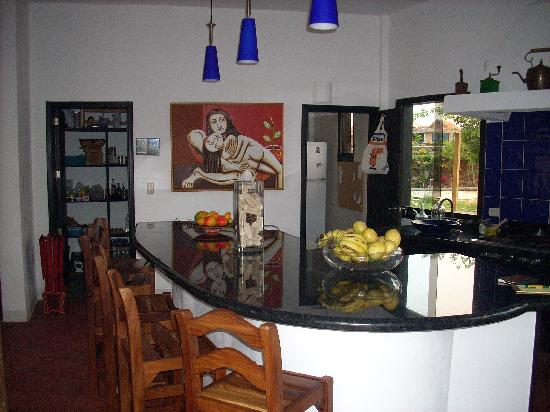 El Yaque, Venezuela: Kitchen area