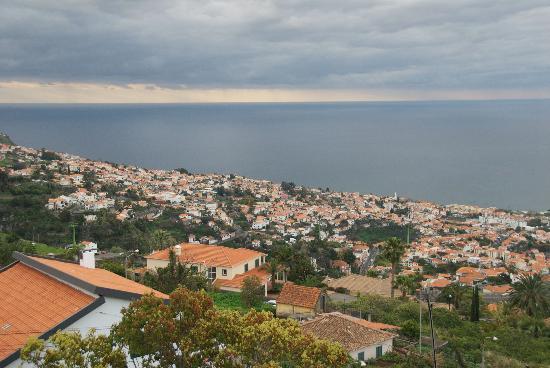Quinta Mirabela : La vue sur Funchal