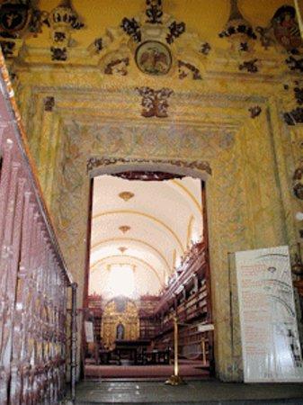 Puebla, Mexico: Entrada a Biblioteca