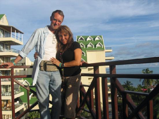 Hotel Arena Blanca: en nuestro balcon piso 5