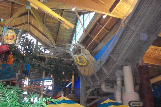 Cedar Point's Castaway Bay: The boat ride