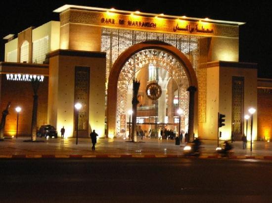 Station Marrakesh : The Resplendent new station