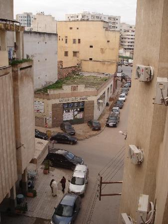 Hotel Mounia: Street View from my room