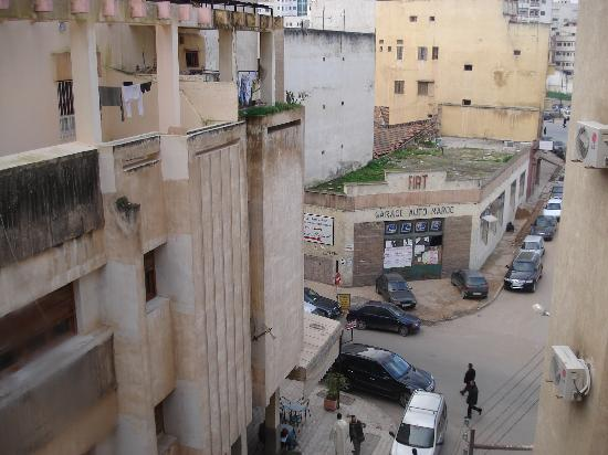 Hotel Mounia: Another street view from my room