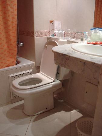 Hotel Mounia: Bathroom