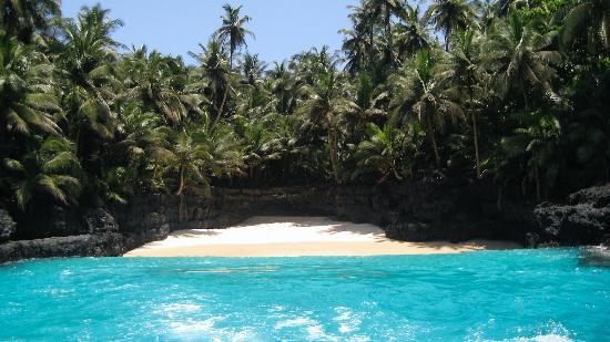 Ilheu Das Rolas, Sao Tome and Principe: Bateria Beach