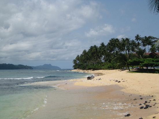 Ilheu Das Rolas, Sao Tome and Principe: Hotel Beach