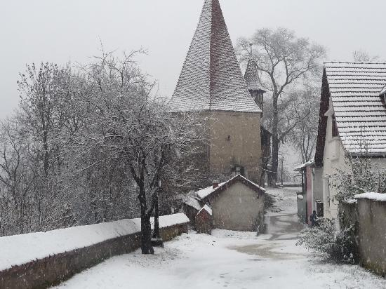 Transylvania, Romania: Sighisoara, birhtplace of Vlad the Impaler