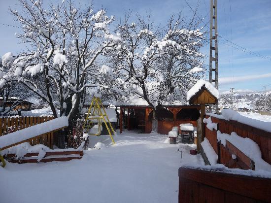 Transylvania, Romania: Snowy Playground, Luna Ilunca