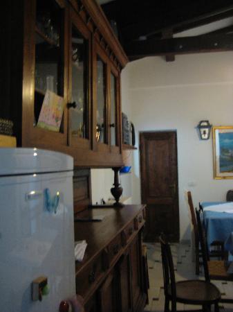 Casa Pucci: The breakfast/common room