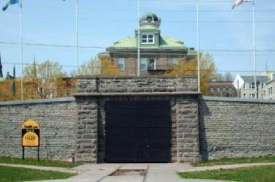 The entrance of the Brockville Railway Tunnel is partial open to the visiting public.