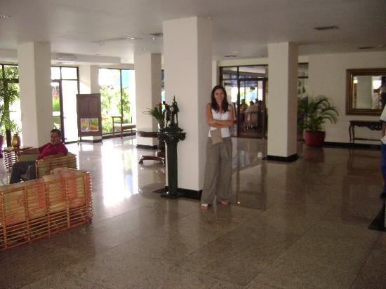 Hotel Arena Blanca: Hall del Hotel