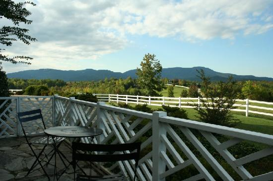 The Red Horse Inn: breakfast view