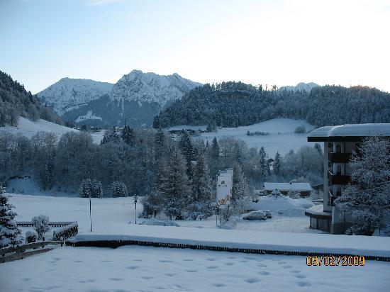 Oberstdorf, Germany: Aussicht vom Hotel-Balkon