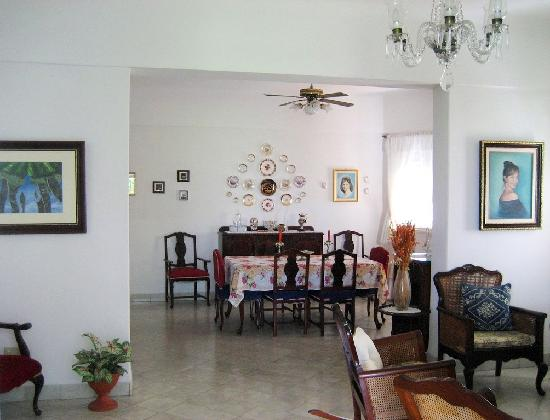 Casa Particular de Carlos y Neyda: Sala y Comedor