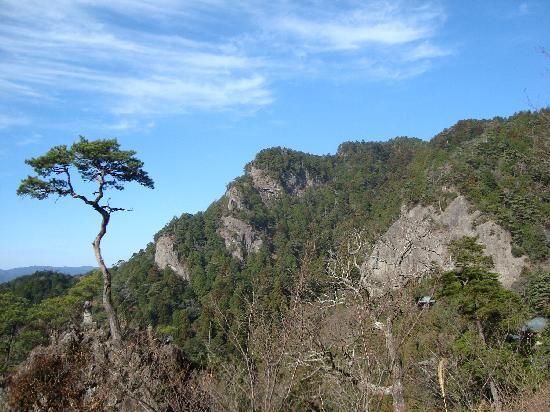 Shinshiro, Japan: 鳳来寺山