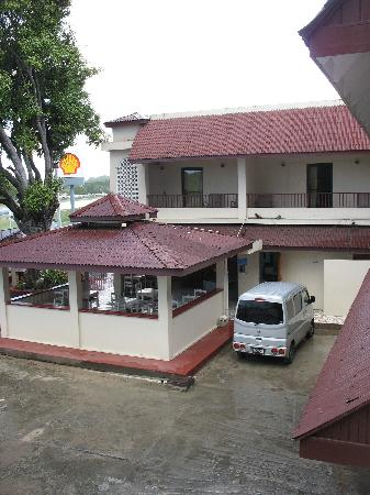 Seaview Apartel : The restaurant