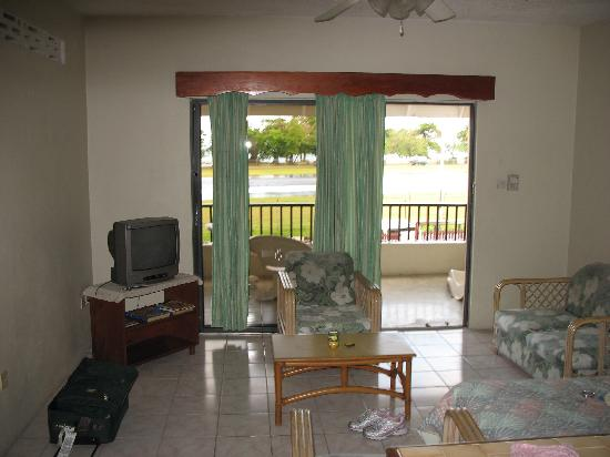 Seaview Apartel : Apartment living room