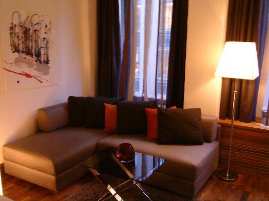 GLO Hotel Kluuvi Helsinki: Lounge Area