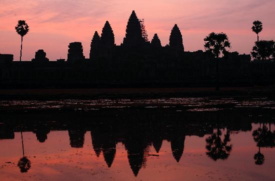 Siem Reap, Cambodia: Angkor Vat at Sunrise
