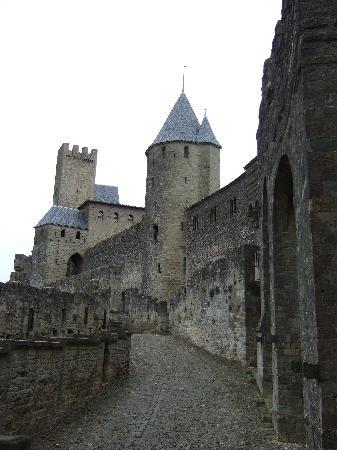 Chateau de Carcassonne,France.
