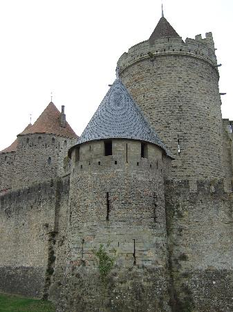 Chateau de Carcassonne,France.