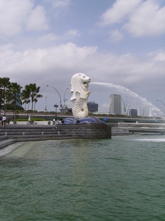 Cingapura: Merlion