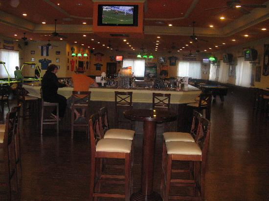 ClubHotel Riu Tequila: the sports bar where you can check the internet