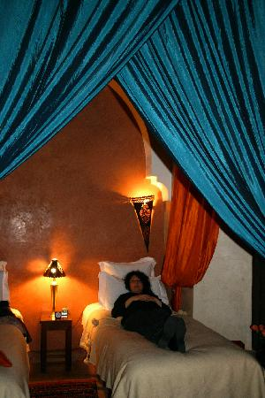 Riad Zolah: our beautiful room