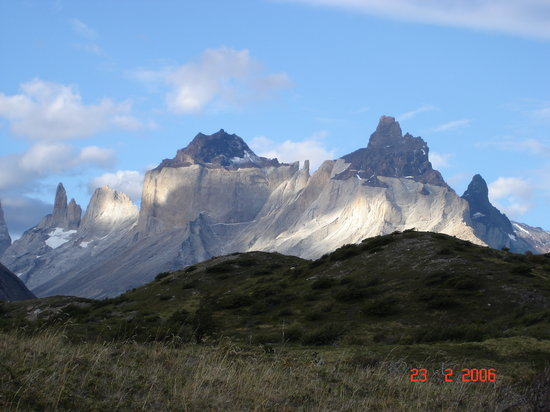 Чили: Los Cuernos - Torres del Paine National Park