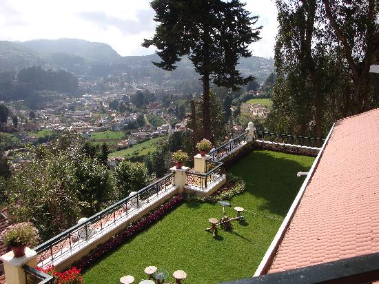 Gem Park-Ooty: Terrace From Toda Cafe