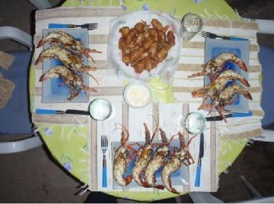 Bahia Rica Fishing and Kayak Lodge: Bahia Rica Gourmet